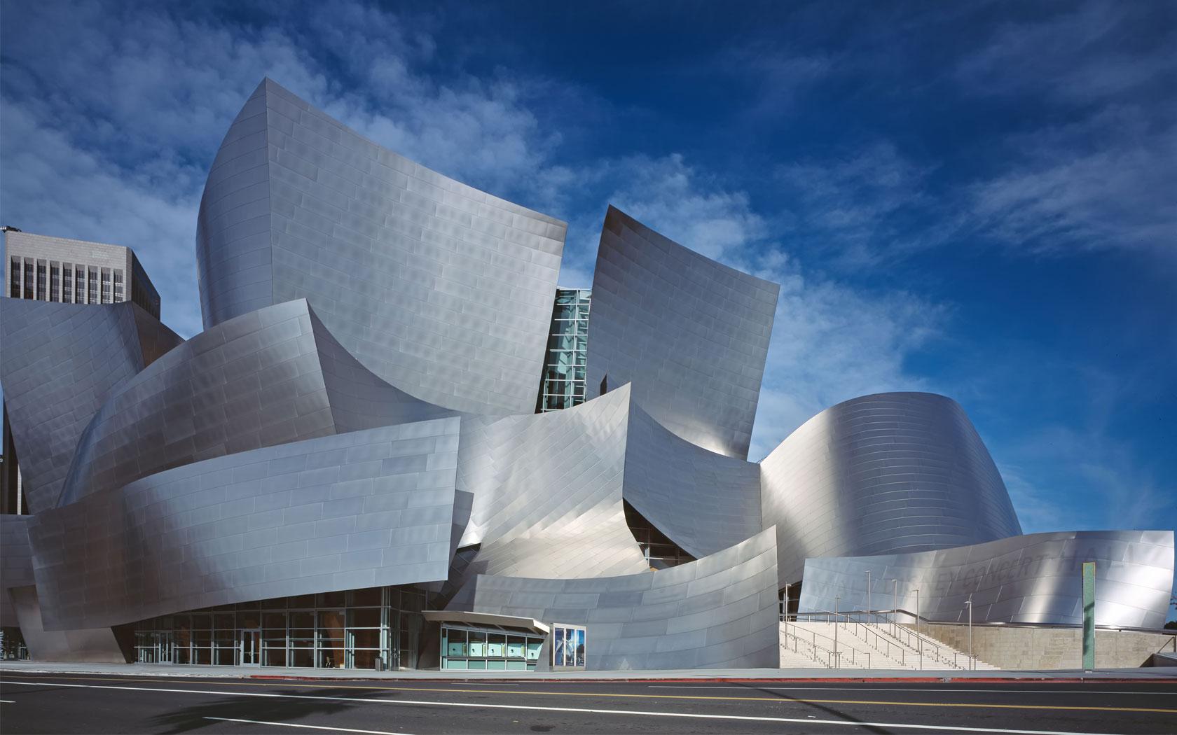 Los angeles walt disney concert architecture fieldlines for Los angeles architecture